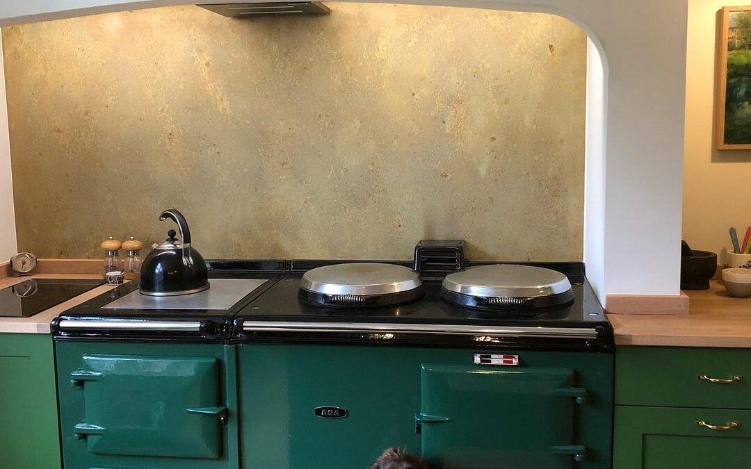Beautiful kitchen ideas using brass