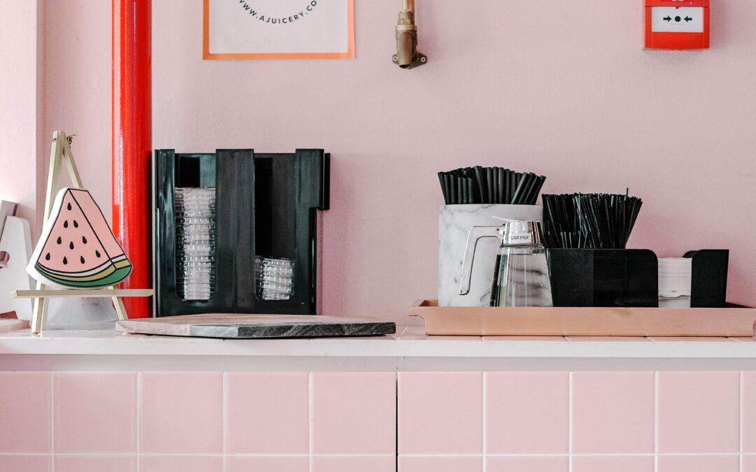 Pink Aesthetic Kitchen Ideas